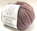 Mercerized merino
